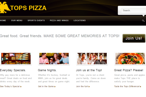 Tops Pizza and Sports Bar
